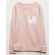 IVY & MAIN Velvet Pocket Girls Tunic Sweatshirt
