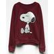 Snoopy Girls Sweatshirt