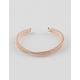 FULL TILT Mesh Rhinestone Cuff Bracelet
