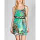FULL TILT Tropical Belted Dress