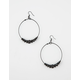FULL TILT Beaded Hoop Earrings
