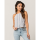 OTHERS FOLLOW Womens Halter Top
