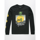 LA FAMILIA Pineapple Skull Mens T-Shirt