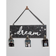 Dream Wooden Sign