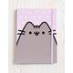 PUSHEEN Polka Dot Flocked Journal