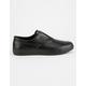 HUF Dylan Slip On Black Grain Mens Shoes