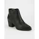 BAMBOO Pointy Toe Womens Ankle Boots
