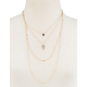 FULL TILT Olivia Triangle Layer Necklace