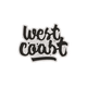 West Coast Sticker