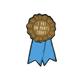 I Put Pants On Today Award Sticker