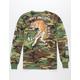 RIOT SOCIETY Tiger Camo Mens T-Shirt
