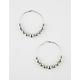 FULL TILT Beaded Hoop Earrings