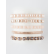 FULL TILT 5 Pack Pearl Bracelet Set