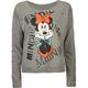 DISNEY Minnie Womens Lightweight Sweatshirt
