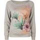 FULL TILT Floral Womens Sweatshirt
