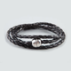 FULL TILT Faux Leather Braid Wrap Bracelet
