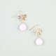 FULL TILT Bow Stone Earrings