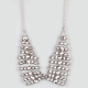 FULL TILT Beaded Bib Necklace
