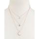 FULL TILT Triple Layer Pendant Necklace