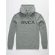 RVCA Big RVCA Mens Hoodie