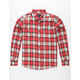 RVCA Bone Mens Flannel Shirt