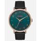 NIXON Arrow Leather Gold Watch