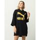 PUMA Glam Womens Oversized Hoodie Dress