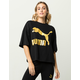 PUMA Glam Womens Oversized Tee