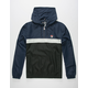 FILA Quarter Zip Mens Windbreaker Jacket