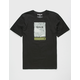 HURLEY Line Grain Mens T-Shirt