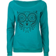 FULL TILT Owl Womens Sweatshirt