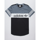 ADIDAS Blocked Mens T-Shirt