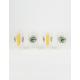 NFL Green Bay Packers 4 Pack Plastic Pint Glasses