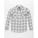 RVCA That'll Work Boys Flannel Shirt