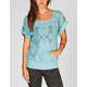 FULL TILT Crochet Womens Tunic