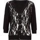 KYUT Lace Front Girls Cardigan