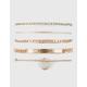 FULL TILT 5 Piece Mermaid Bracelet Set
