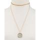 FULL TILT Chain Glitter Pendant Layer Necklace