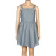 FULL TILT Chambray Button Front Girls Dress
