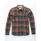 EZEKIEL Brewers Mens Flannel Shirt Jacket