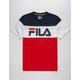 FILA Color Block Boys T-Shirt