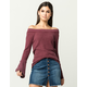 OTHERS FOLLOW Off The Shoulder Womens Thermal