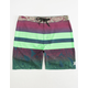 HURLEY Phantom Blackball Lush Mens Boardshorts