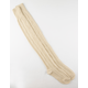 Cable Knit Metallic Womens Over The Knee Socks