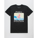 PINK DOLPHIN Blossom Portrait Mens T-Shirt