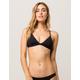 BILLABONG Sol Searcher Black Bikini Top