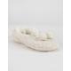 MUK LUKS Cable Knit Womens Slipper Socks