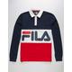 FILA Harley Mens Rugby Shirt