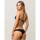 BILLABONG Sol Searcher Black Cheeky Bikini Bottoms