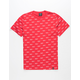 HUF Domestic Allover Mens T-Shirt